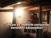 Türkiye'ye elektrik veriyorlar, kendileri karanlıkta!