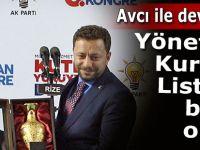 AK Parti Rize İl yönetimi belli oldu