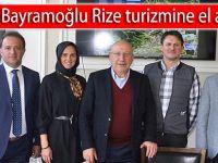 Ali Bayramoğlu Rize Turizmine el attı