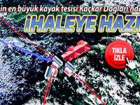 Türkiye'nin en büyük kayak tesisi Kaçkar Dağları'nda yapılacak