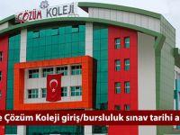 Hamidiye Çözüm Koleji giriş/bursluluk sınav tarihi açıklandı