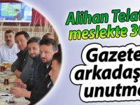 Gazeteci arkadaşları Telatar'ı 30. yılında unutmadı