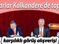 Muhtarlar Kalkandere'de toplandı