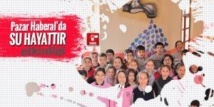 Pazar Haberal Ortaokulundan 'Su hayattır' etkinliği
