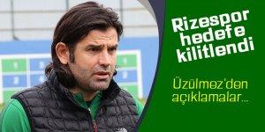 """Üzülmez: """"Aslanlar gibi mücadele edip Rizespor'u hedefine ulaştıracağız"""""""