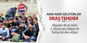 Afganlar 40 yıl sonra 2. büyük göç dalgası ile Türkiye'ye akın ediyor