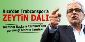 Rize'den Trabzonspor'a zeytin dalı!