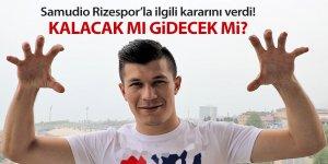 Samudio Rizespor'la ilgili kararını verdi