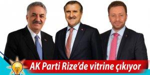 AK Parti Rize adayları vitrine çıkıyor
