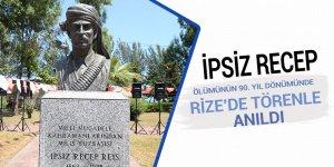 İpsiz Recep ölümünün 90. yıl dönümünde Rize'de anıldı