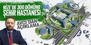 Rize'de 300 dönüme şehir hastanesi