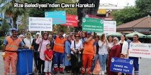 Rize Belediyesi'nden Çevre Harekatı