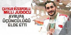 Milli Judocudan Avrupa üçüncülüğü