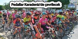 Pedallar Karadeniz'de çevrilecek