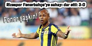 Rizespor ligdeki ilk galibiyetini Fenerbahçe karşısında aldı