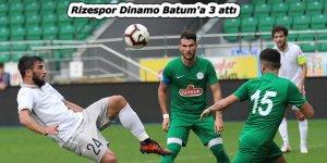 Rizespor Dinamo Batum'a 3 attı