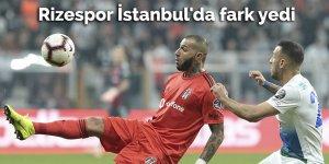 Rizespor İstanbul'da fark yedi