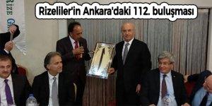 Rizeliler'in Ankara'daki 112. buluşması