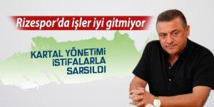 Rizespor'da Kartal yönetimi istifalarla sarsıldı
