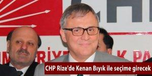 CHP Rize'de Kenan Bıyık ile seçime girecek