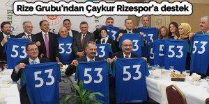 Rize Grubu'ndan Çaykur Rizespor'a destek