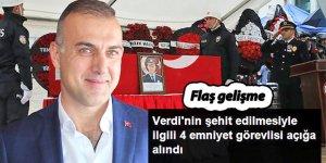 Şehit Müdür olayında flaş gelişme: 4 polis açığa alındı