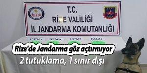 Rize'de Jandarma göz açtırmıyor
