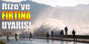 Meteorolojiden D. Karadeniz için şiddetli fırtına uyarısı