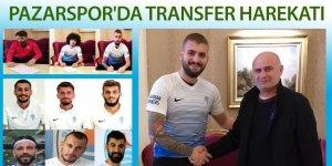 Pazarspor'da transfer harekatı: 7 oyuncuyu gitti 3 futbolcu alındı