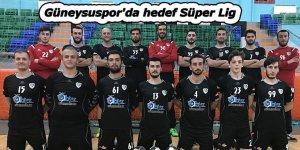 Güneysuspor'da hedef Süper Lig