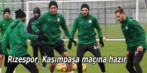 Rizespor, Kasımpaşa maçına hazır