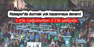 Rizespor'da durmak yok kazanmaya devam!