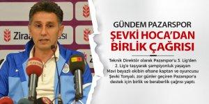 Şevki Hoca'dan Pazarspor için birlik çağrısı