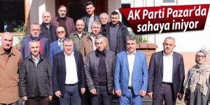 AK Parti Pazar'da sahaya iniyor