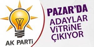 AK Parti'den Pazar'da aday tanıtımı