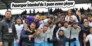 Pazarspor İstanbul'da 3 puan avına çıkıyor