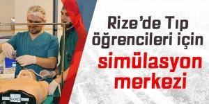 Rize'de tıp öğrencileri için simülasyon merkezi