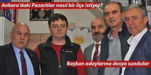 Ankara'daki Pazarlılar nasıl bir Pazar istiyor?