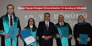 Recep Tayyip Erdoğan Üniversitesinin 13. kuruluş yıl dönümü