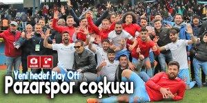 Pazarspor'un yeni hedefi Play Off