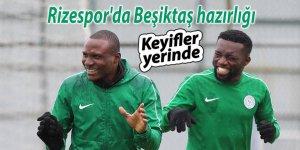 Çaykur Rizespor'da Beşiktaş maçı hazırlıkları
