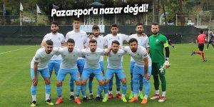 Pazarspor'a nazar değdi!