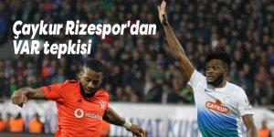 Çaykur Rizespor'dan VAR tepkisi