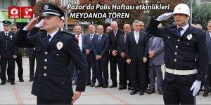 Pazar'da Polis Haftası etkinlikleri