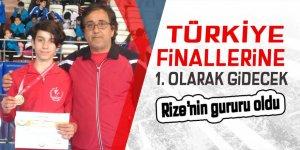 Türkiye finallerine 1. olarak gidecek