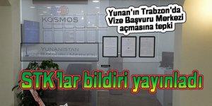 Yunan'ın Trabzon'da Vize Başvuru Merkezi açmasına tepki