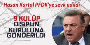 Hasan Kartal ve Abdurrahim Albayrak, PFDK'ye sevk edildi