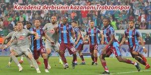 Karadeniz derbisinin kazananı Trabzonspor