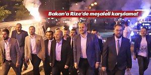 Bakan Turhan Rize'de Sahur'a katıldı
