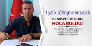 Pazarspor'da hoca konusu böyle çözüldü!